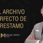 El Archivo Perfecto de Préstamo
